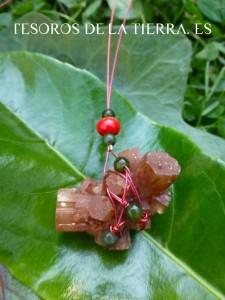 coral, jade, aragonita