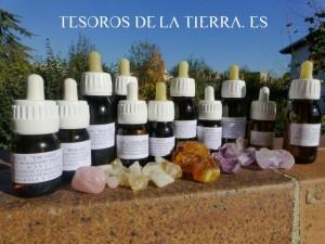 aceites macerados de cristales