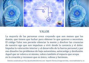 Código Valor