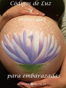minerales para embarazadas, piedras para embarazadas